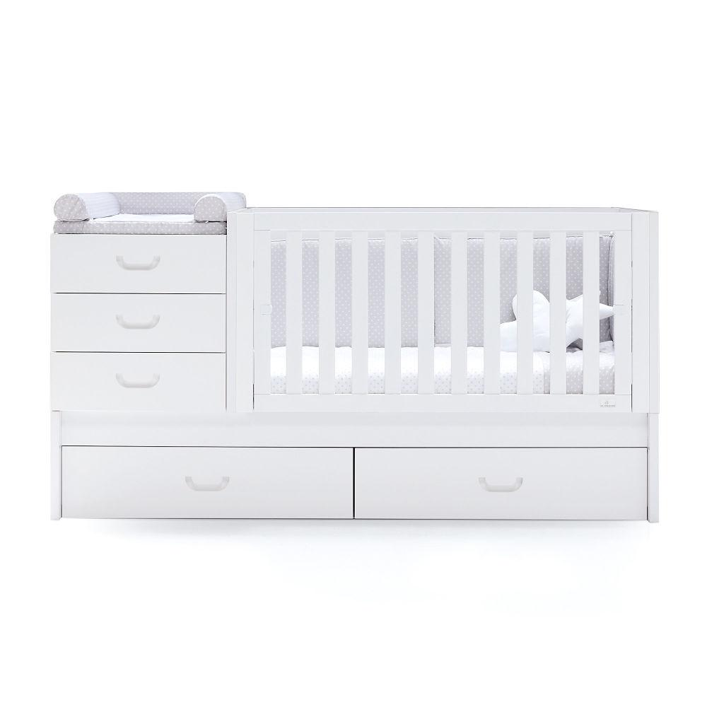 Alondra Infantil Zero Joy Convertible Crib - huggle