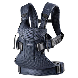 You added <b><u>Baby Bjorn Baby Carrier One Air - Navy Blue</u></b> to your cart.