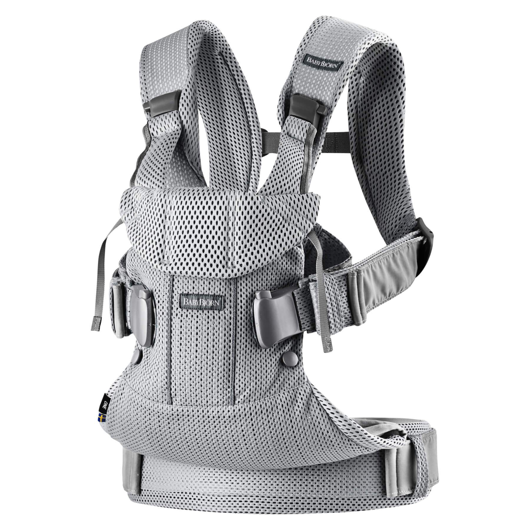 Baby Bjorn Baby Carrier One Air - Silver