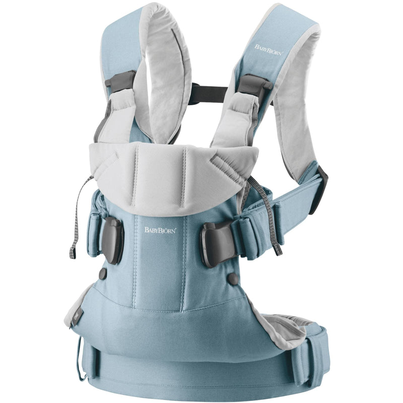 Baby Bjorn Baby Carrier One - Light Blue/Light Grey