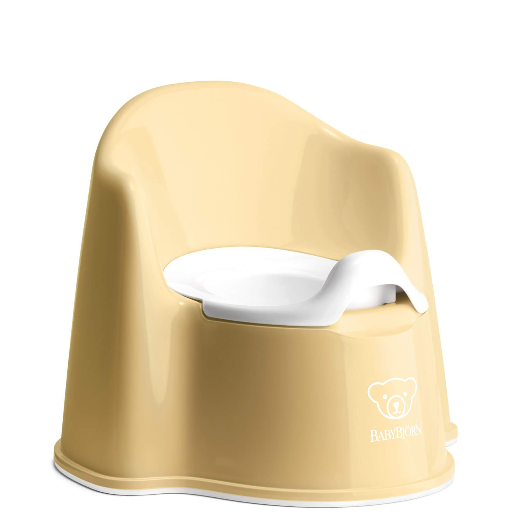 Baby Bjorn Potty Chair - Powder Yellow