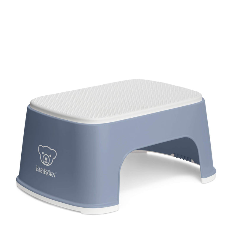 Baby Bjorn Step Stool - Deep Blue/White