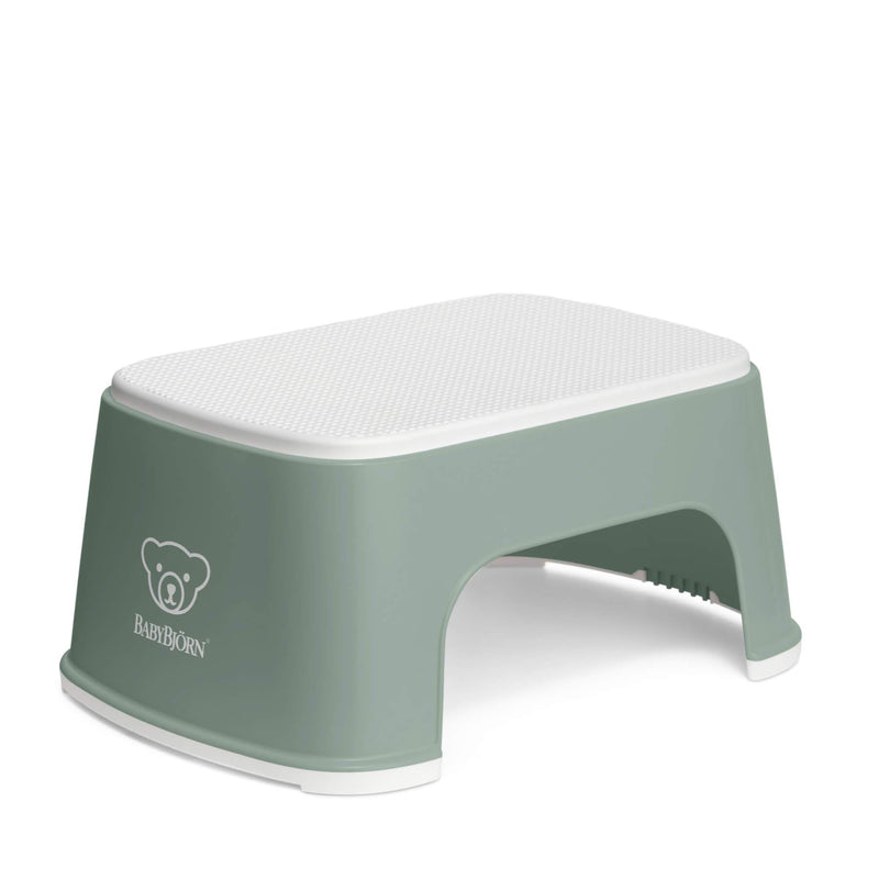 Baby Bjorn Step Stool - Deep Green/White