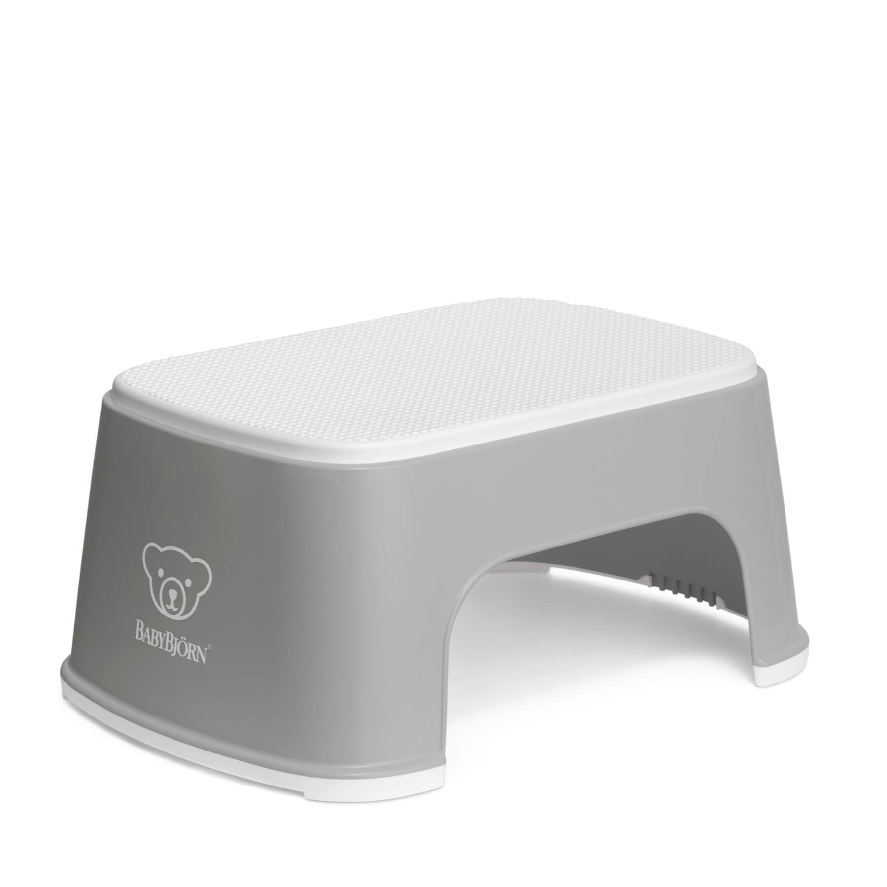Baby Bjorn Step Stool - Grey/White