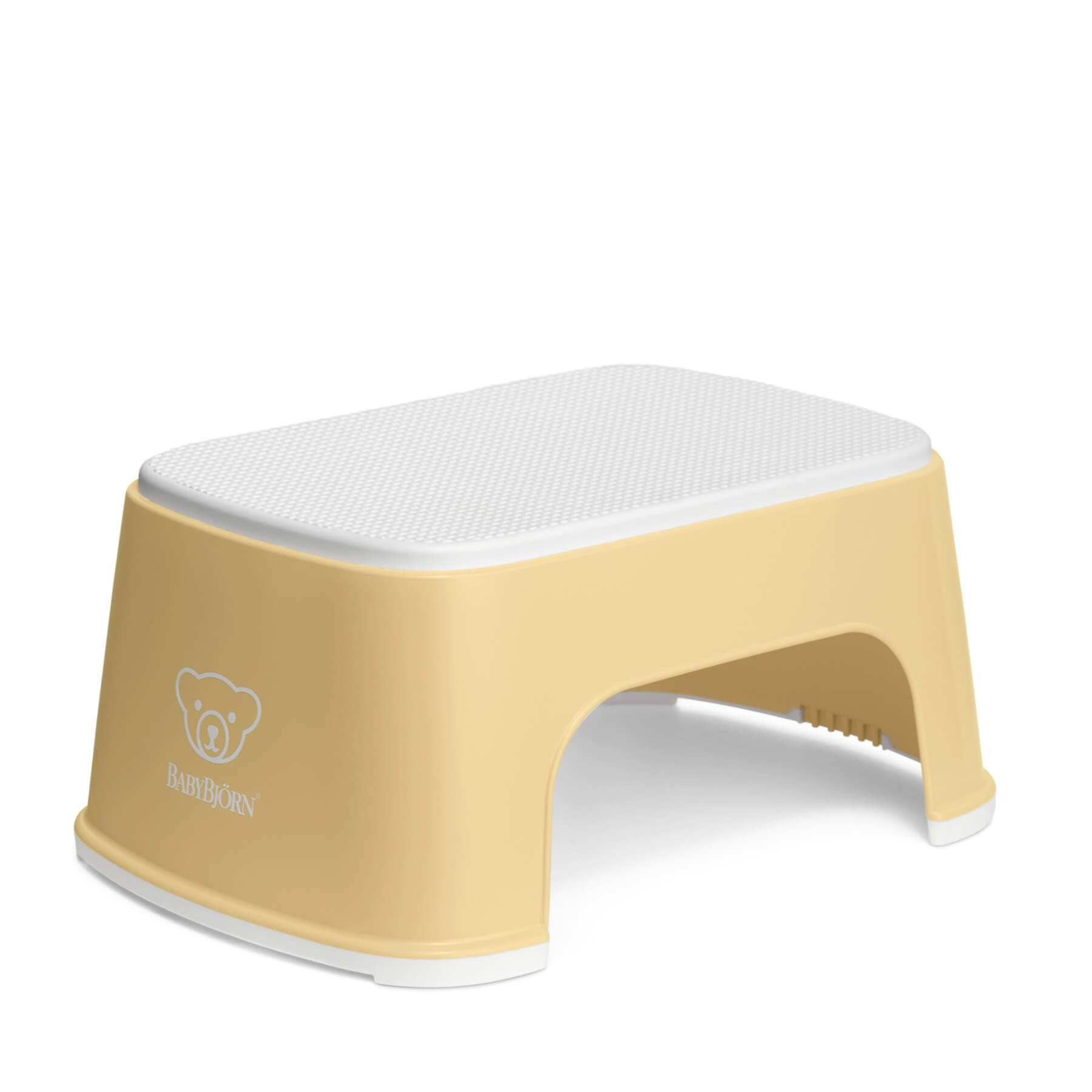 Baby Bjorn Step Stool - Powder Yellow/White
