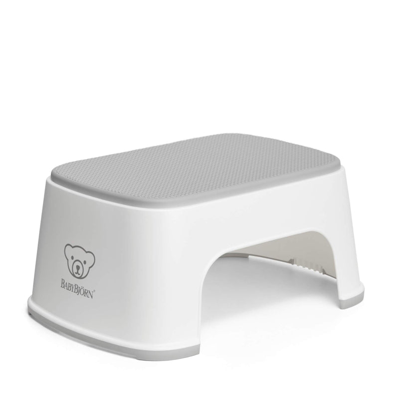 Baby Bjorn Step Stool - White/Grey