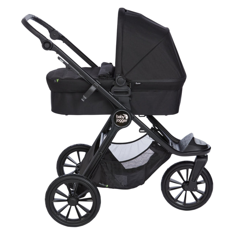 Baby Jogger City Elite 2 Single Carrycot - Granite