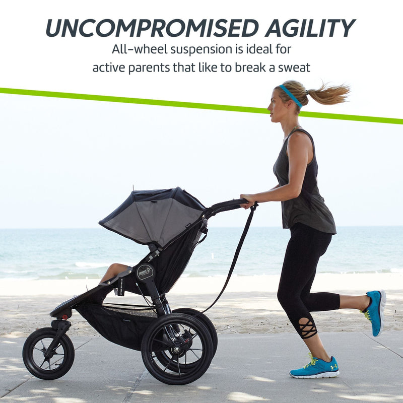 Baby Jogger Summit X3 - Black/Grey