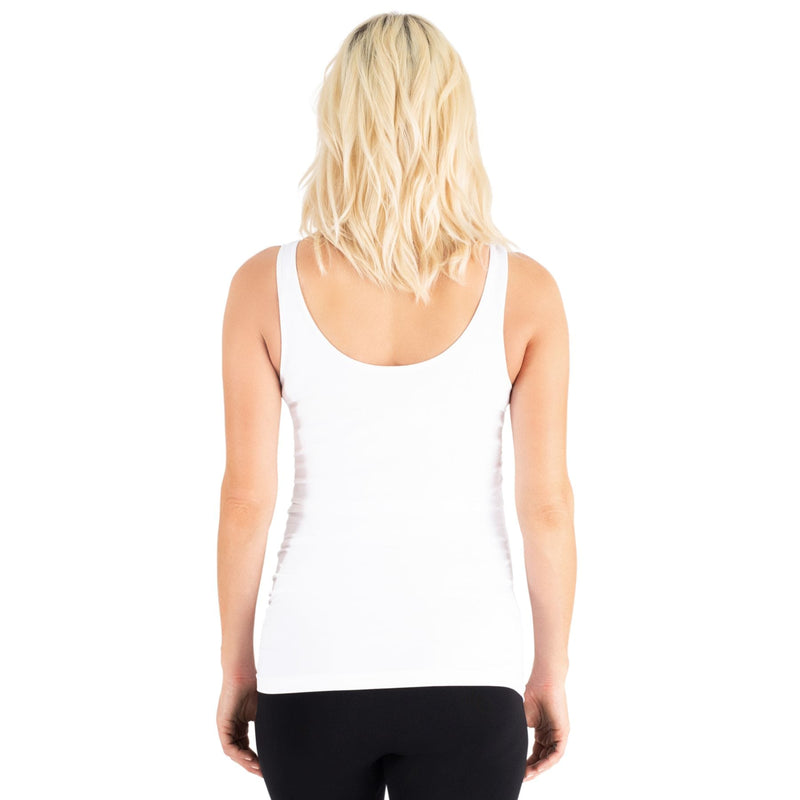 Belly Bandit Belly Bandit B.D.A Maternity Tank - White