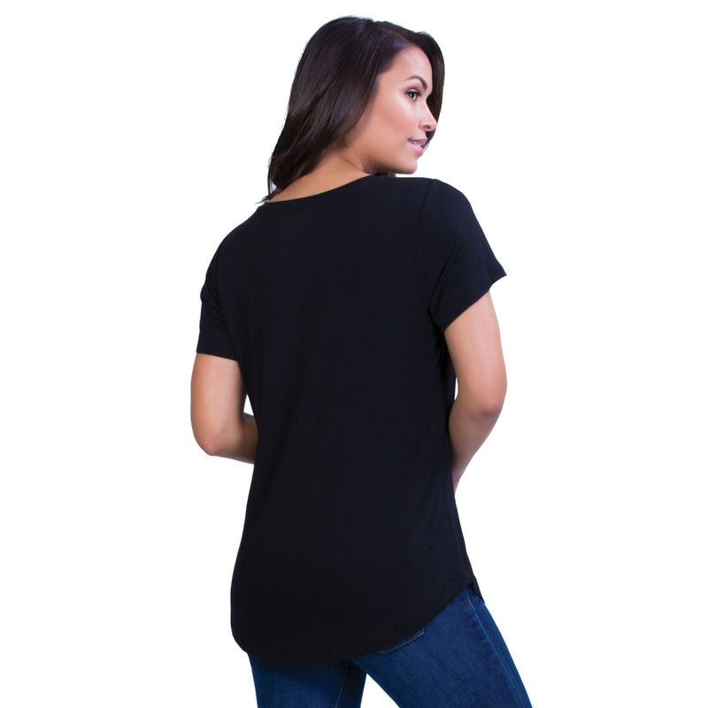 Belly Bandit Perfect Nursing Tee - Black
