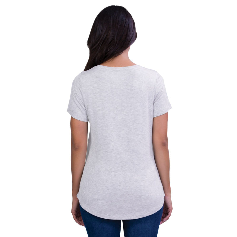 Belly Bandit Perfect Nursing Tee - Heather Grey