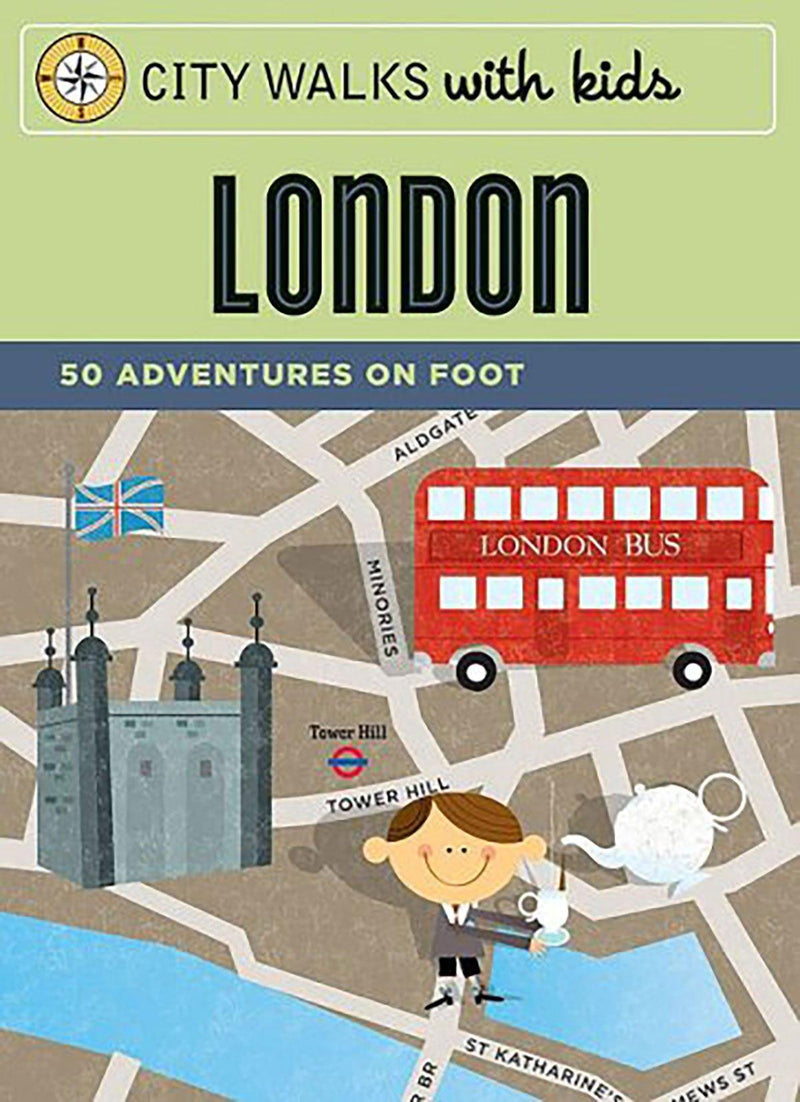 Bookspeed City Walks with kids - London - huggle