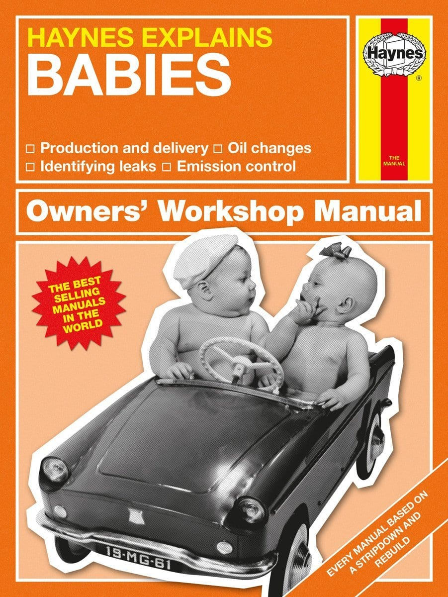 Bookspeed Haynes explains: Babies