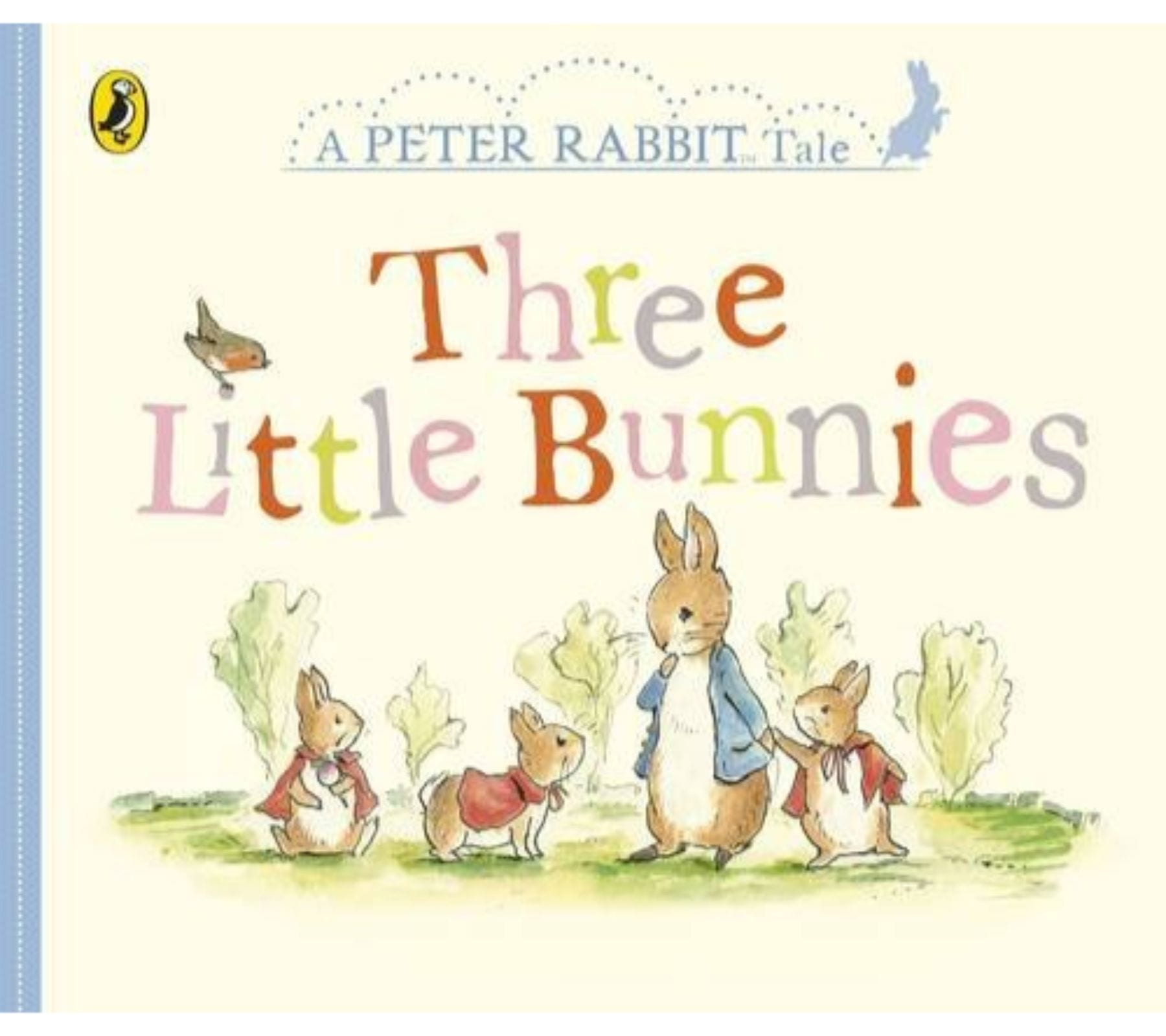Bookspeed Peter Rabbit - Three Little Bunnies (board book)