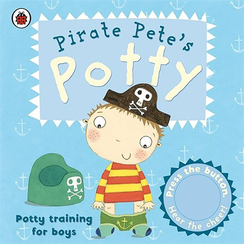Bookspeed Pirate Petes Potty Training Book - huggle