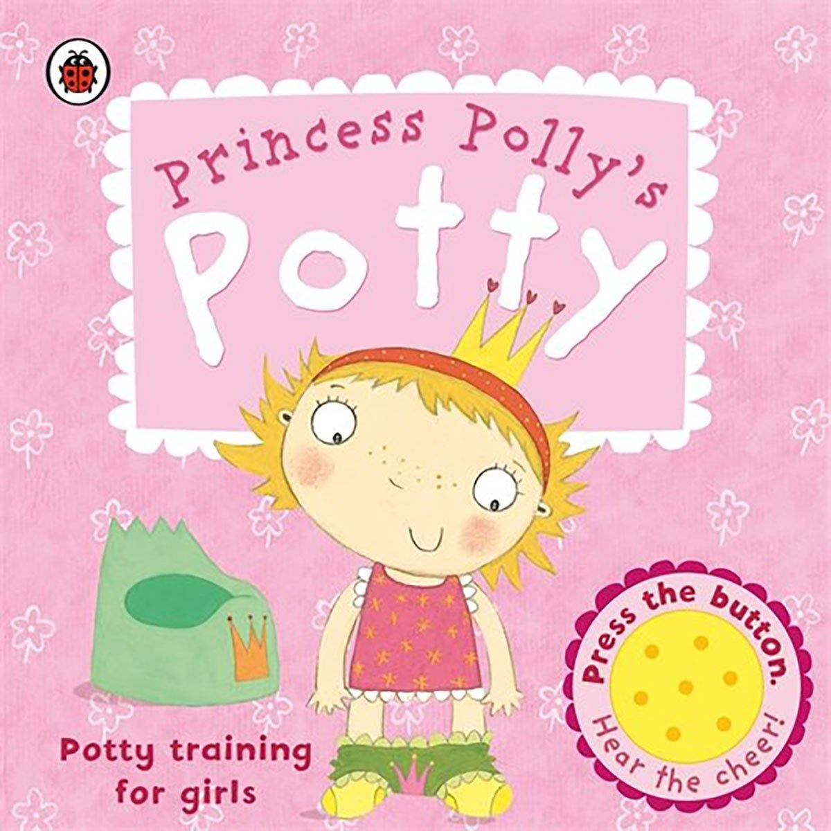 Bookspeed Princess Pollys Potty Training Book - huggle