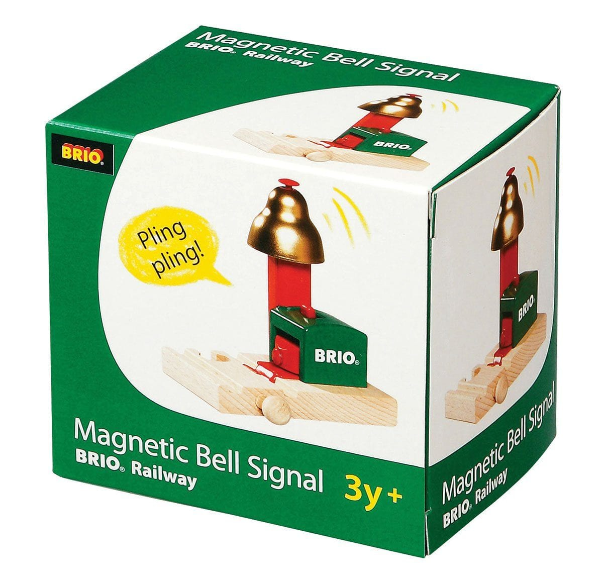 Brio Magnetic Bell Signal - huggle