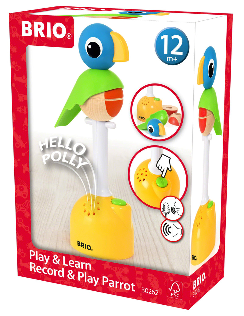 Brio Record and Play Parrot