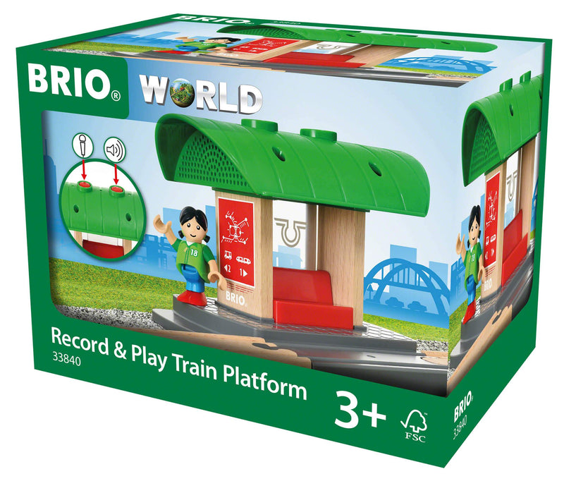 Brio Record & Play Station Platform