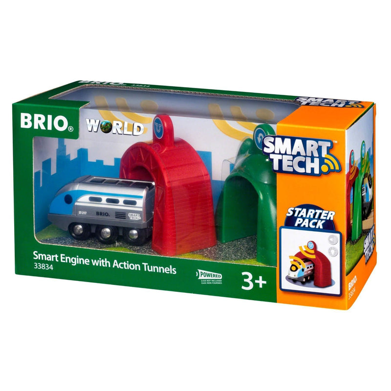 Brio Smart Tech - Engine with Action Tunnels