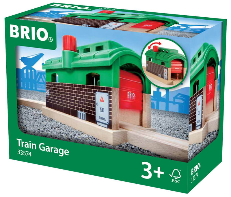 Brio Train Garage - huggle