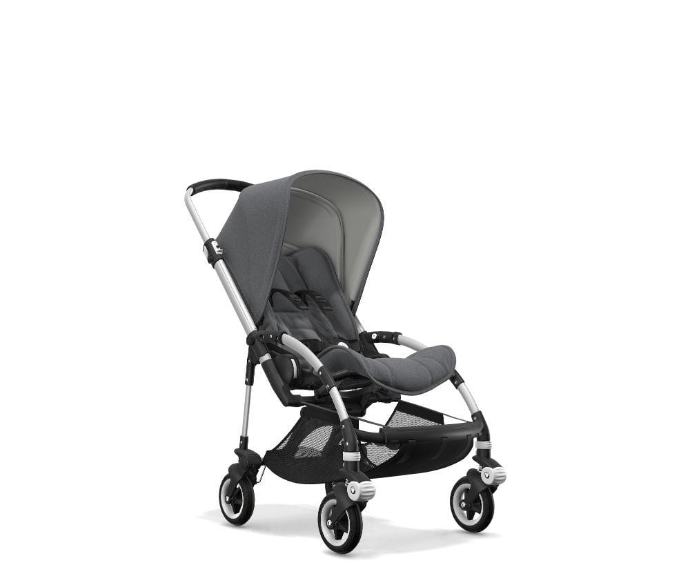 Bugaboo Bee 5 Pushchair with grey melange style set
