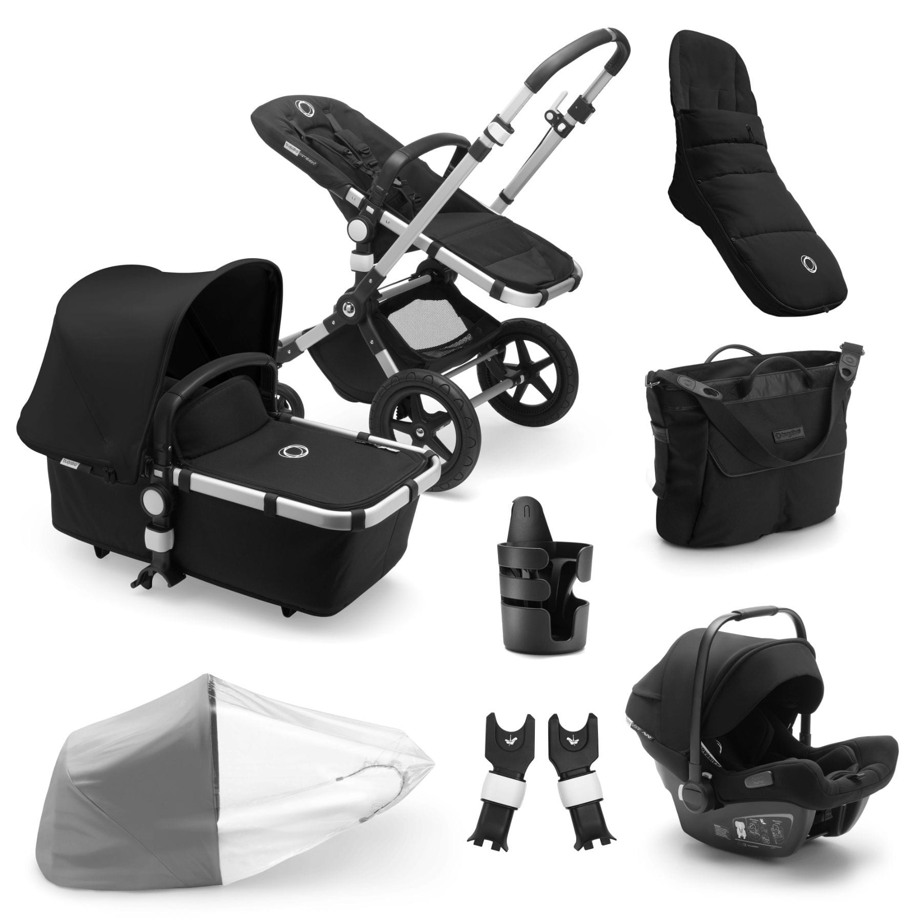 Bugaboo Cameleon Ready To Go Bundle - Alu Frame Pushchairs & Accessories Bugaboo