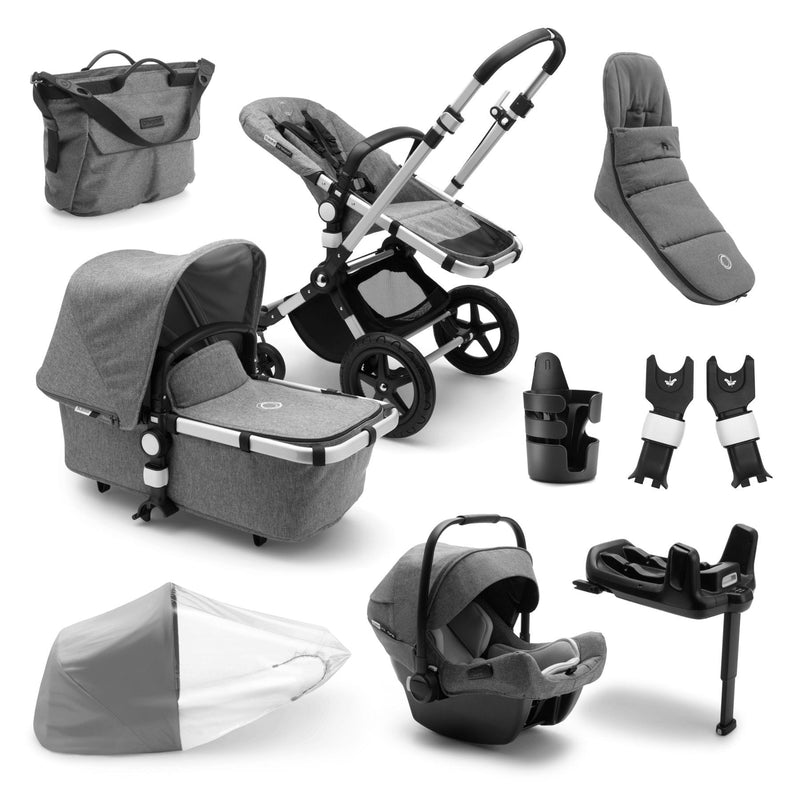 Bugaboo Cameleon Ready To Go Further Bundle - Alu Frame Pushchairs & Accessories Bugaboo
