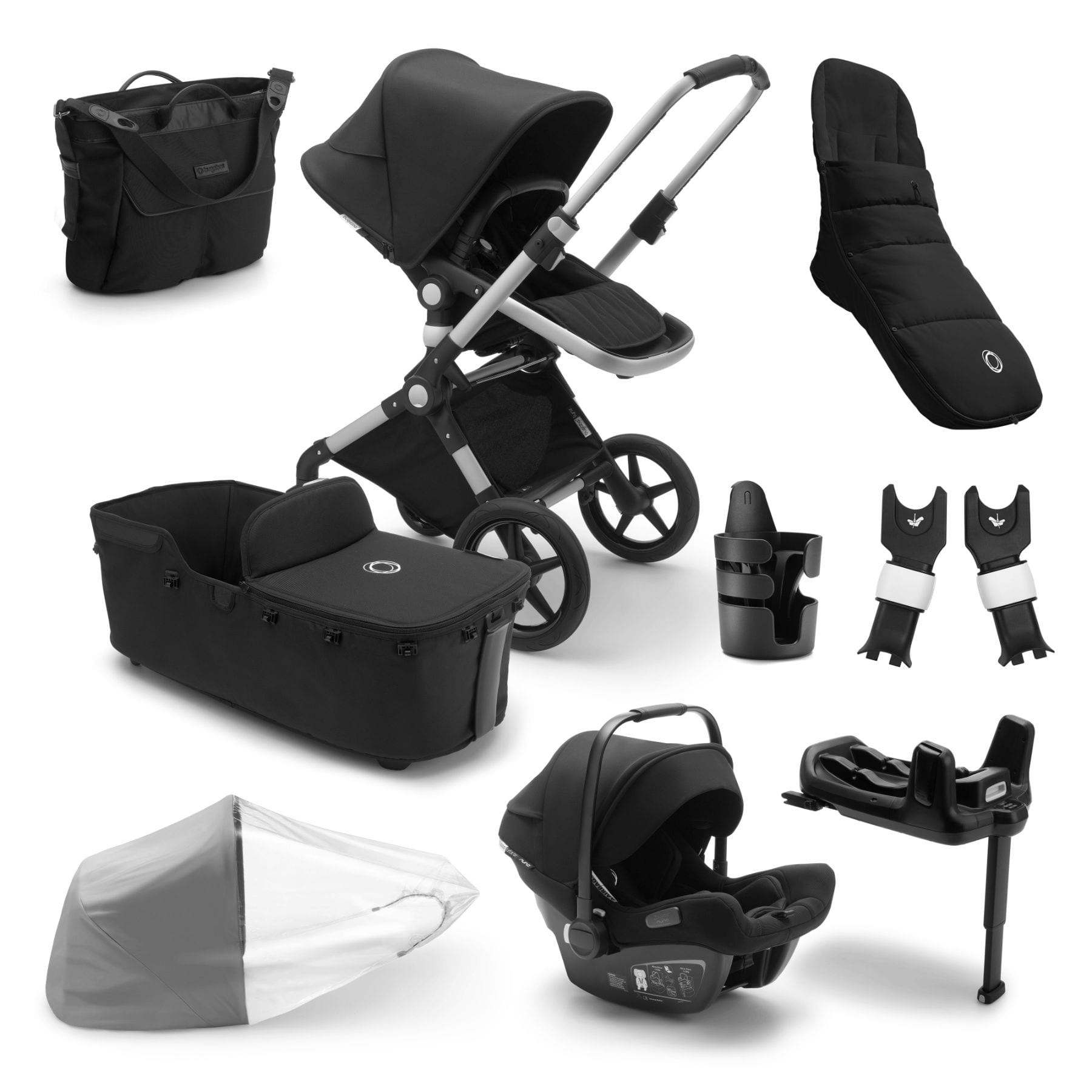 Bugaboo Lynx Ready To Go Further Bundle - Alu Frame Pushchairs & Accessories Bugaboo