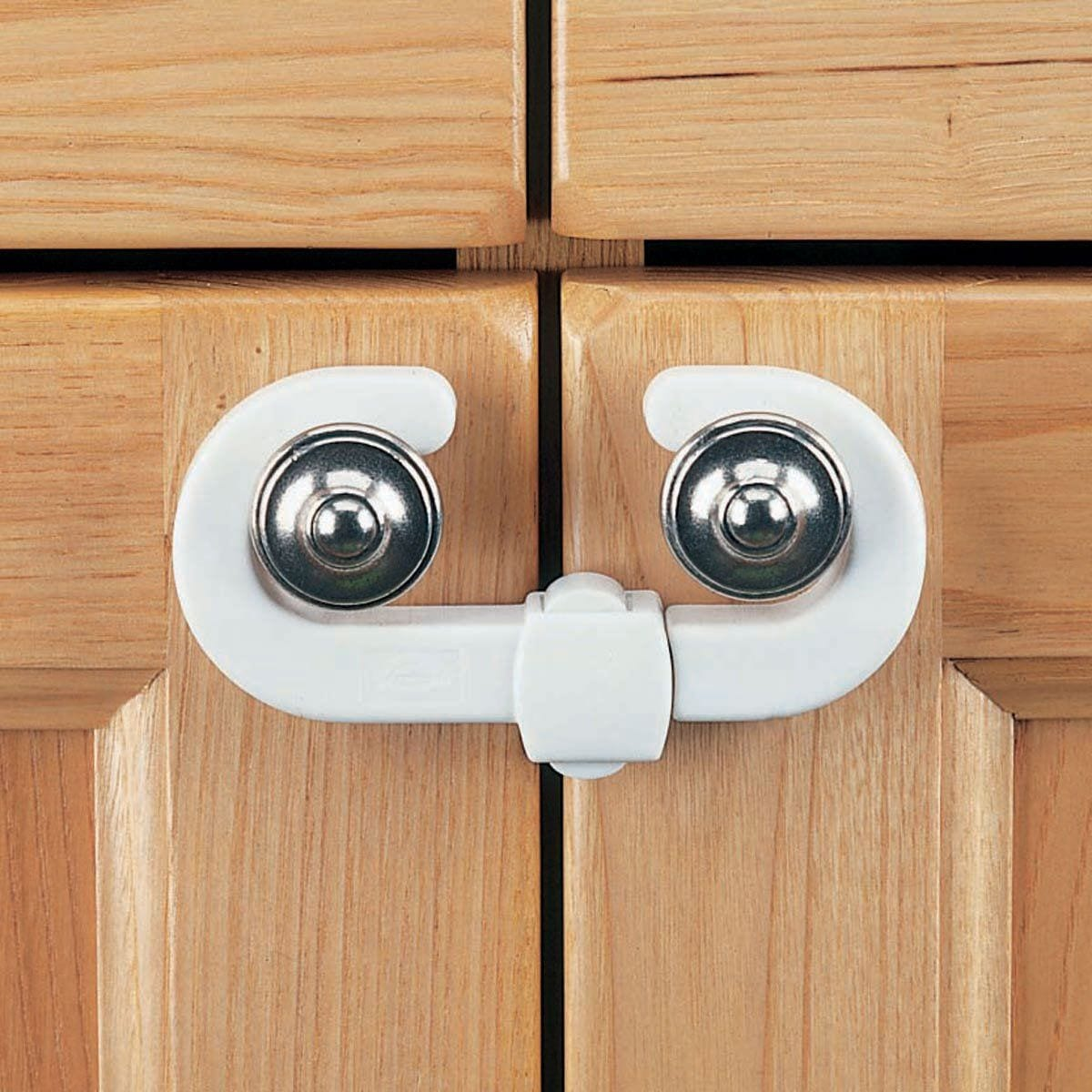 Clippasafe Cabinet Lock Set of 2 - huggle