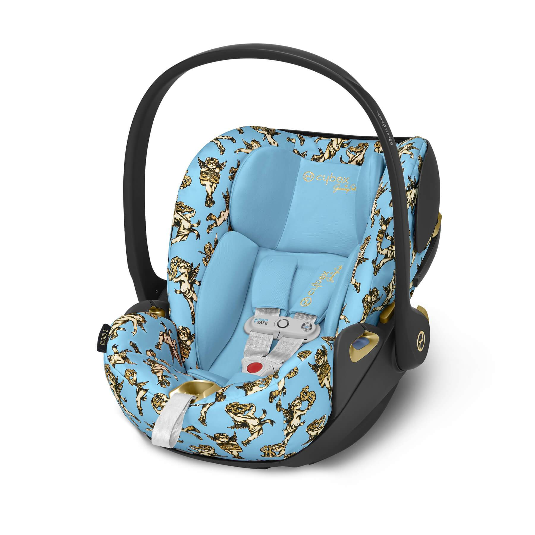 Cybex Cloud Z incl Sensor Safe Cherub by Jeremy Scott - huggle