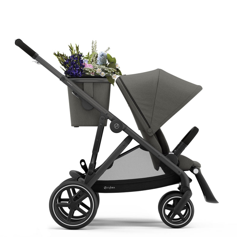 Cybex Gazelle S Black - Soho Grey