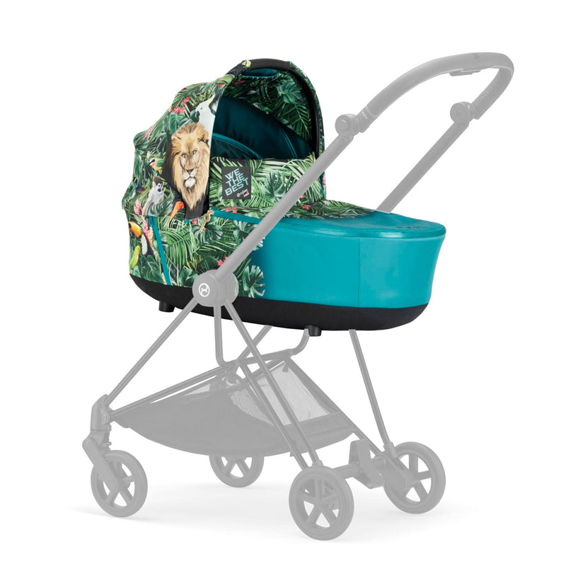 Cybex Mios Lux Carrycot - We The Best Blue by DJ Khaled Pushchairs & Accessories Cybex