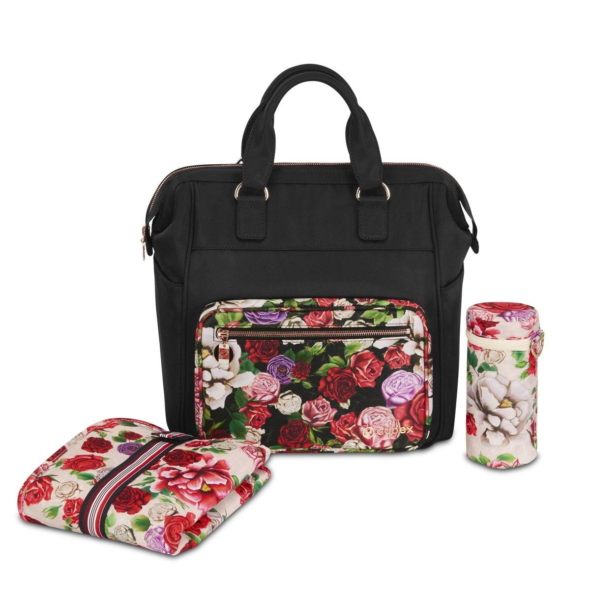 Cybex Platinum Changing Bag - Spring Blossom Dark