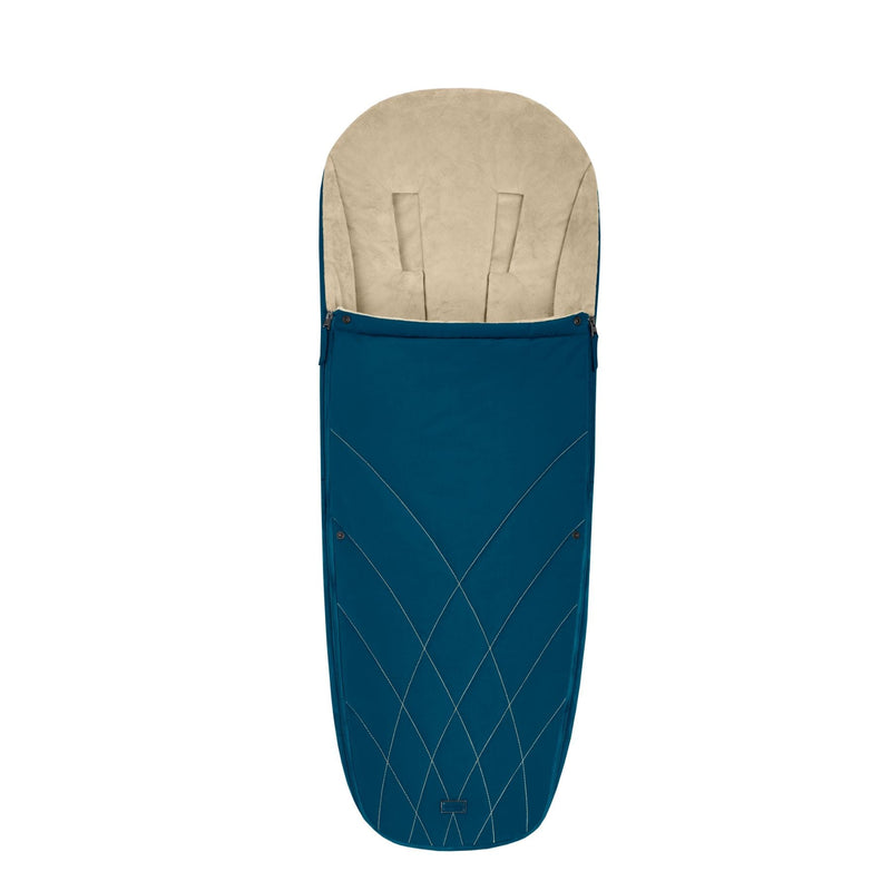 Cybex Platinum Footmuff - Mountain Blue