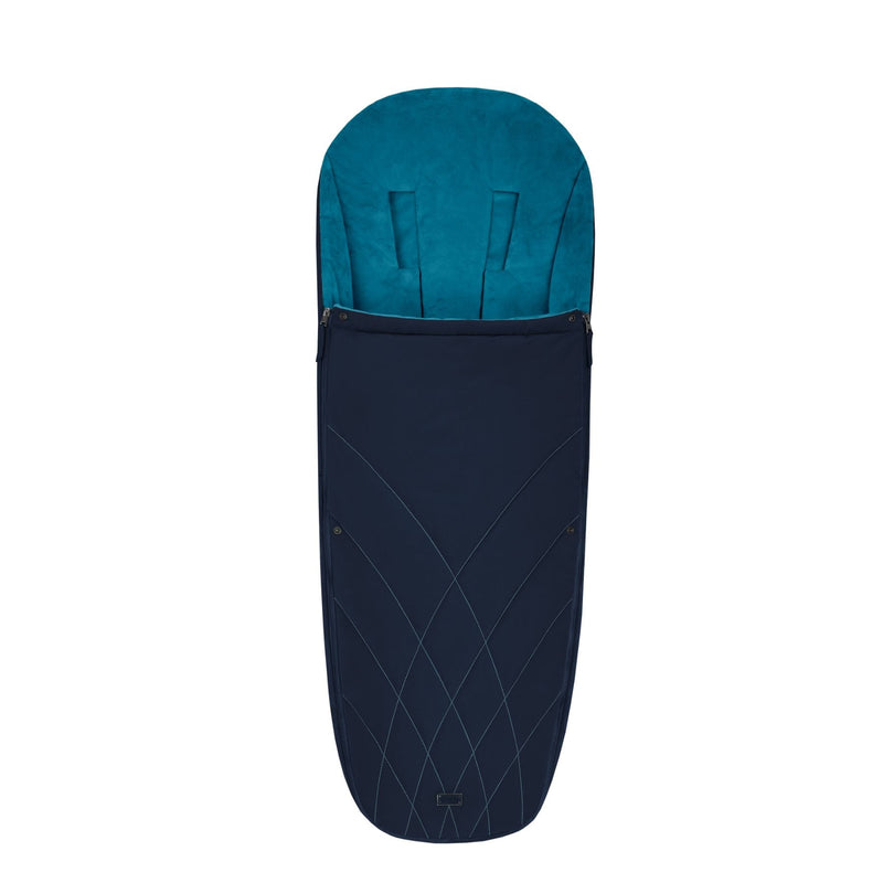 Cybex Platinum Footmuff - Nautical Blue