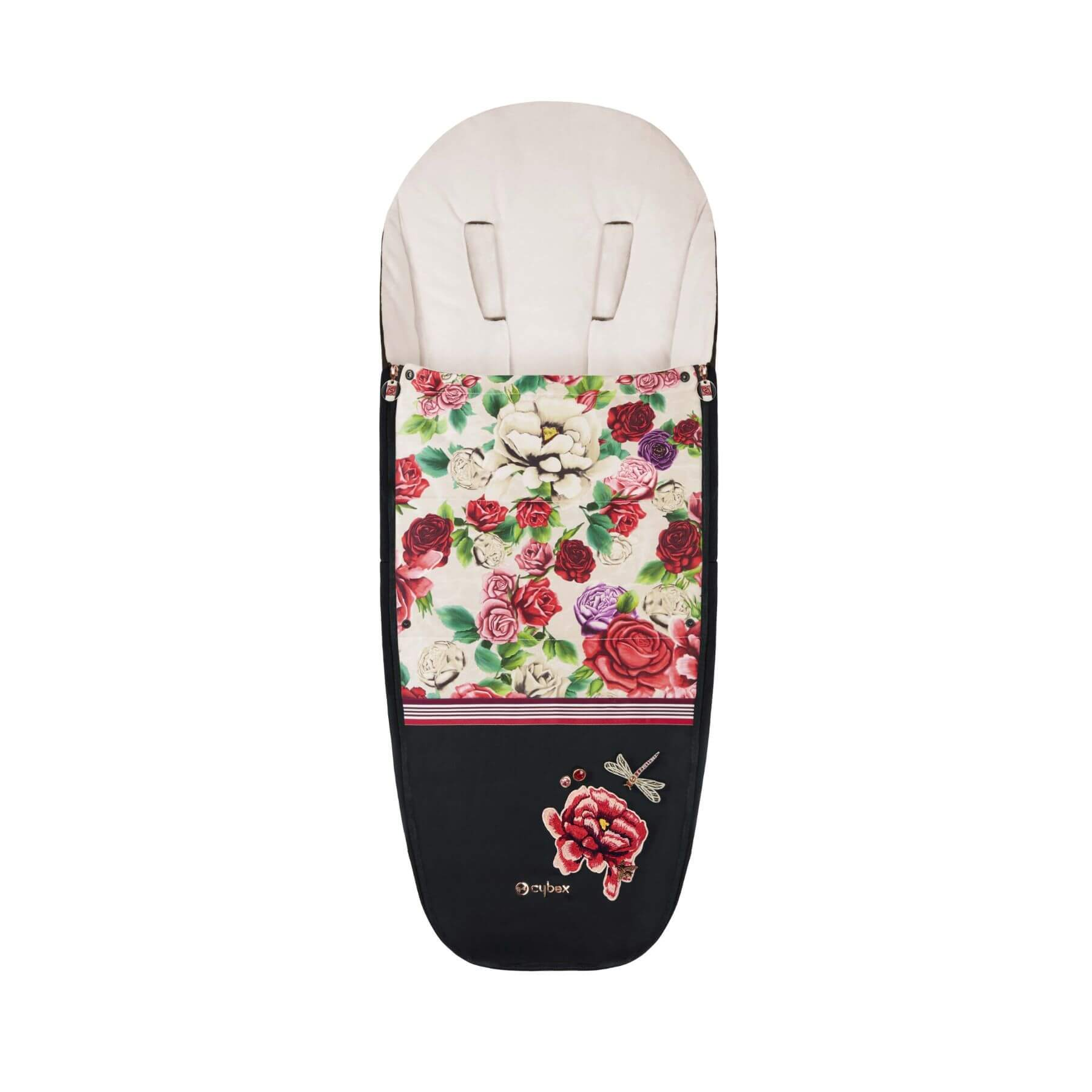 Cybex Platinum Footmuff - Spring Blossom Light