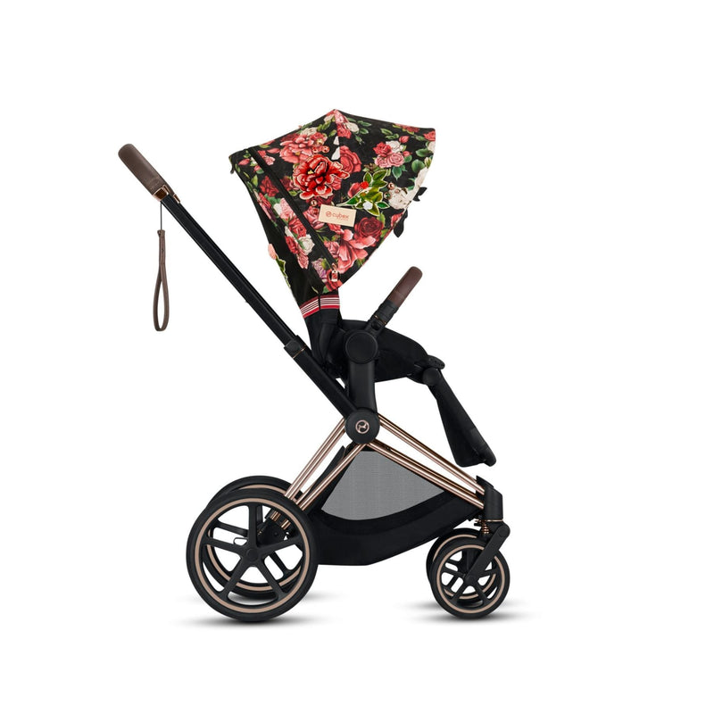 Cybex Priam Spring Blossom Dark - Rose Gold