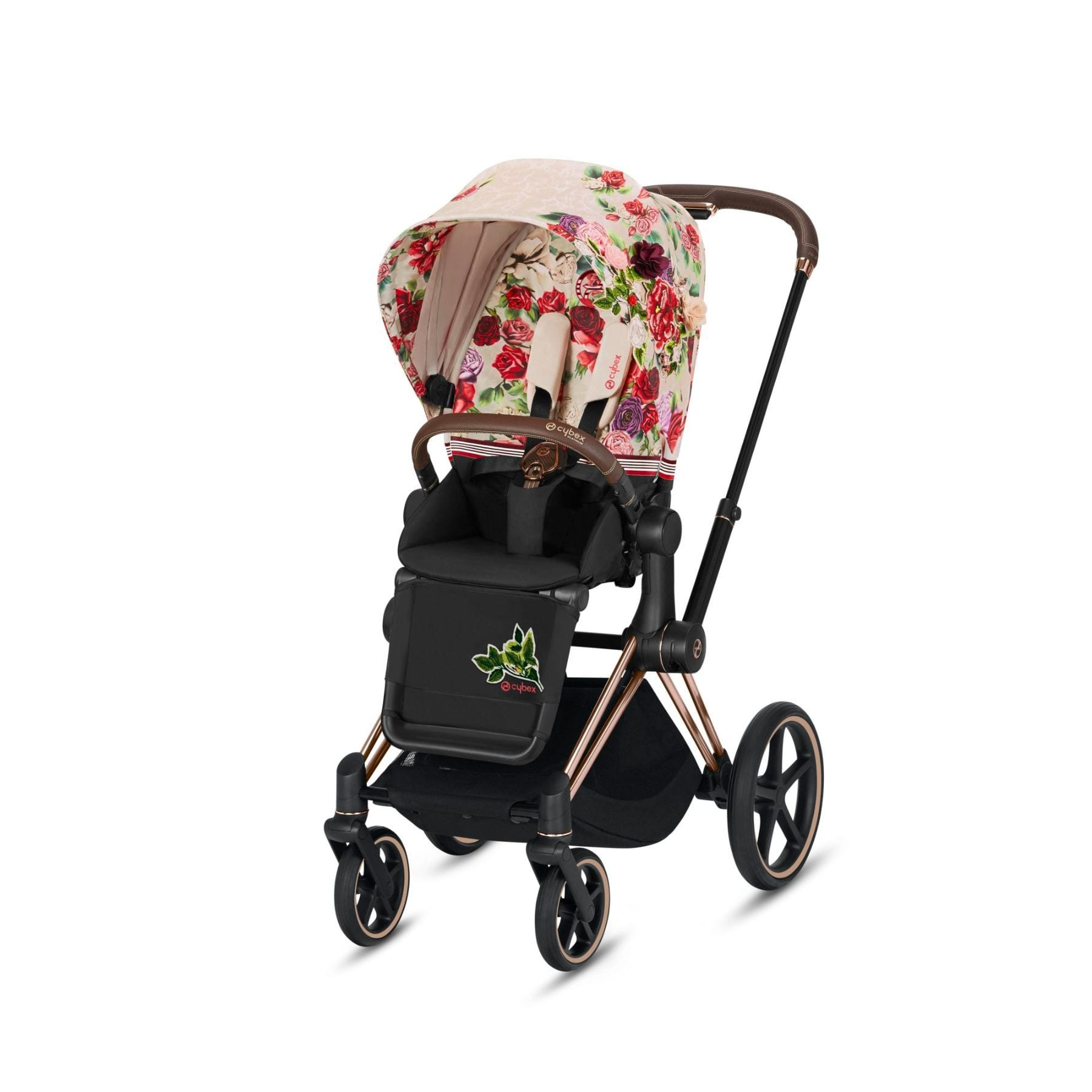 Cybex Priam Spring Blossom Light - Rose Gold