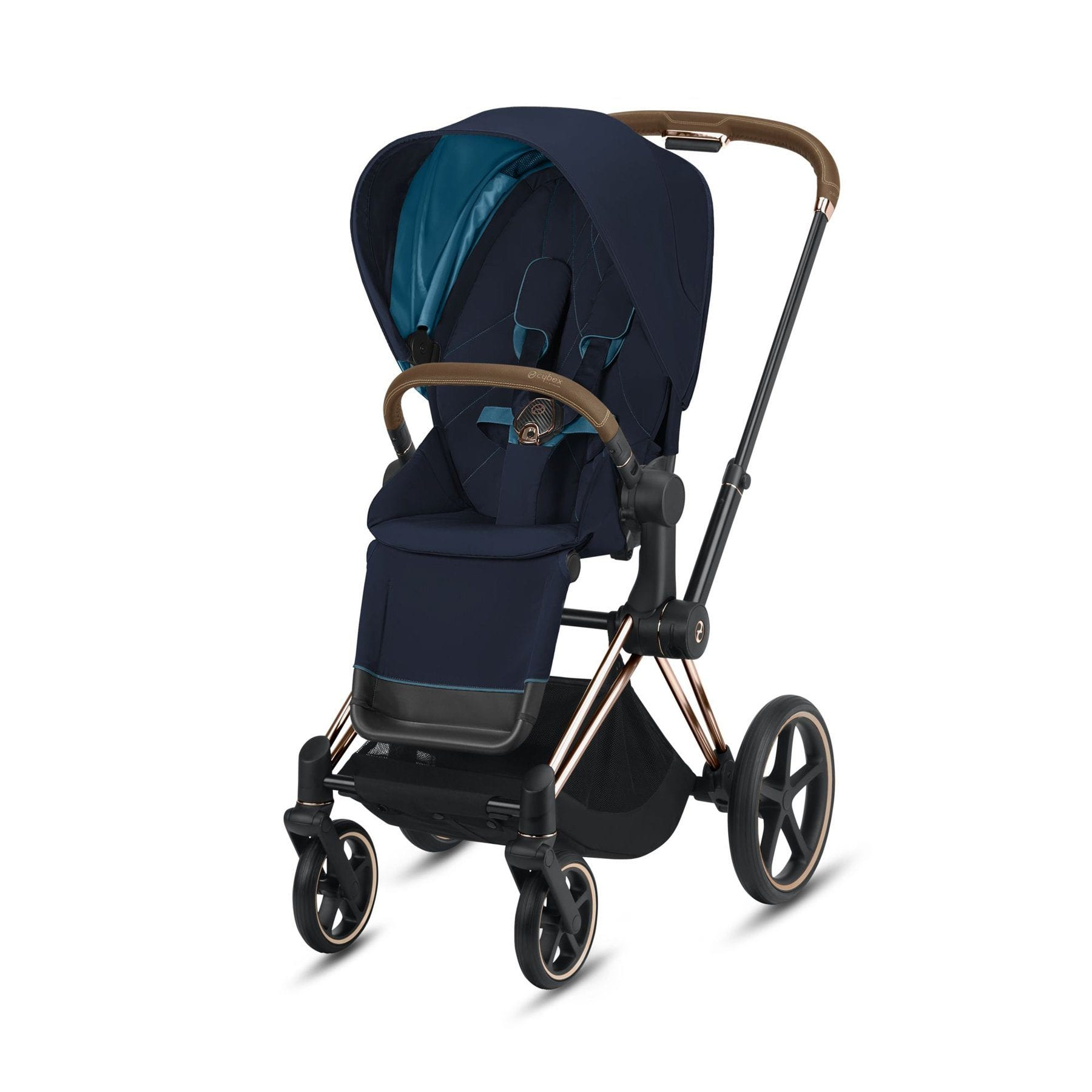 Cybex Rose Gold Priam - Nautical Blue