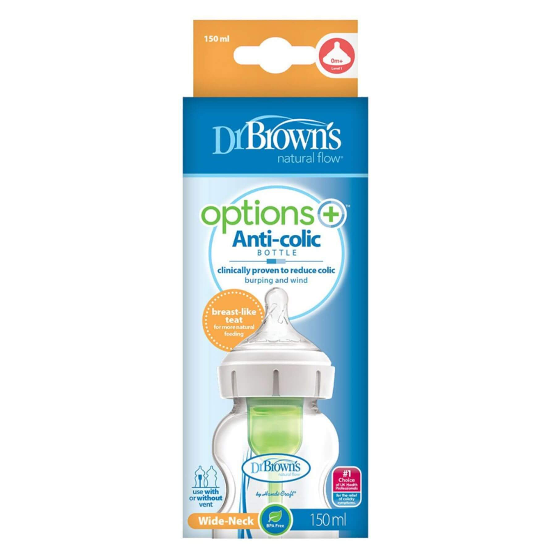 Dr Browns Options+ Bottle 150ml