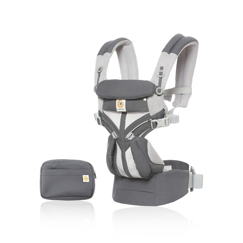 Ergo baby Omni 360 Carrier - Cool Air Mesh - Carbon Grey