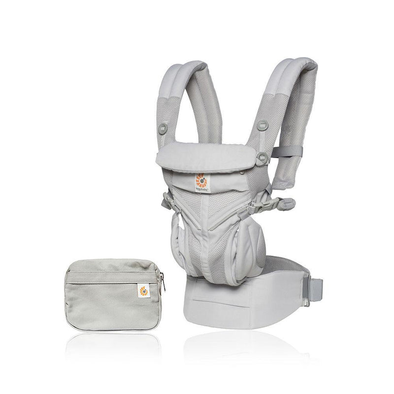 Ergo baby Omni 360 Carrier - Cool Air Mesh - Pearl Grey