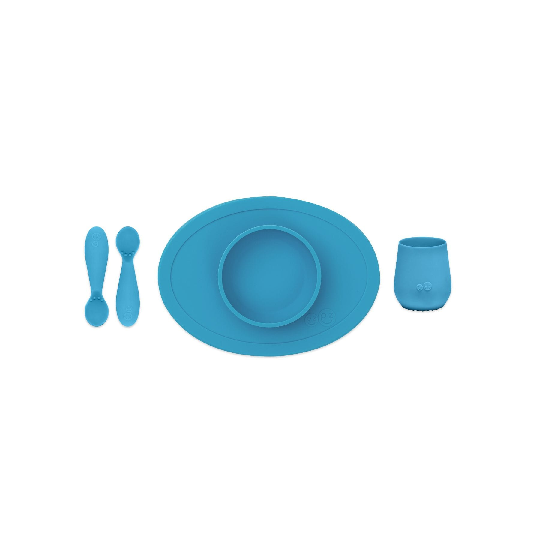 EZPZ Tiny First Food Set - Blue