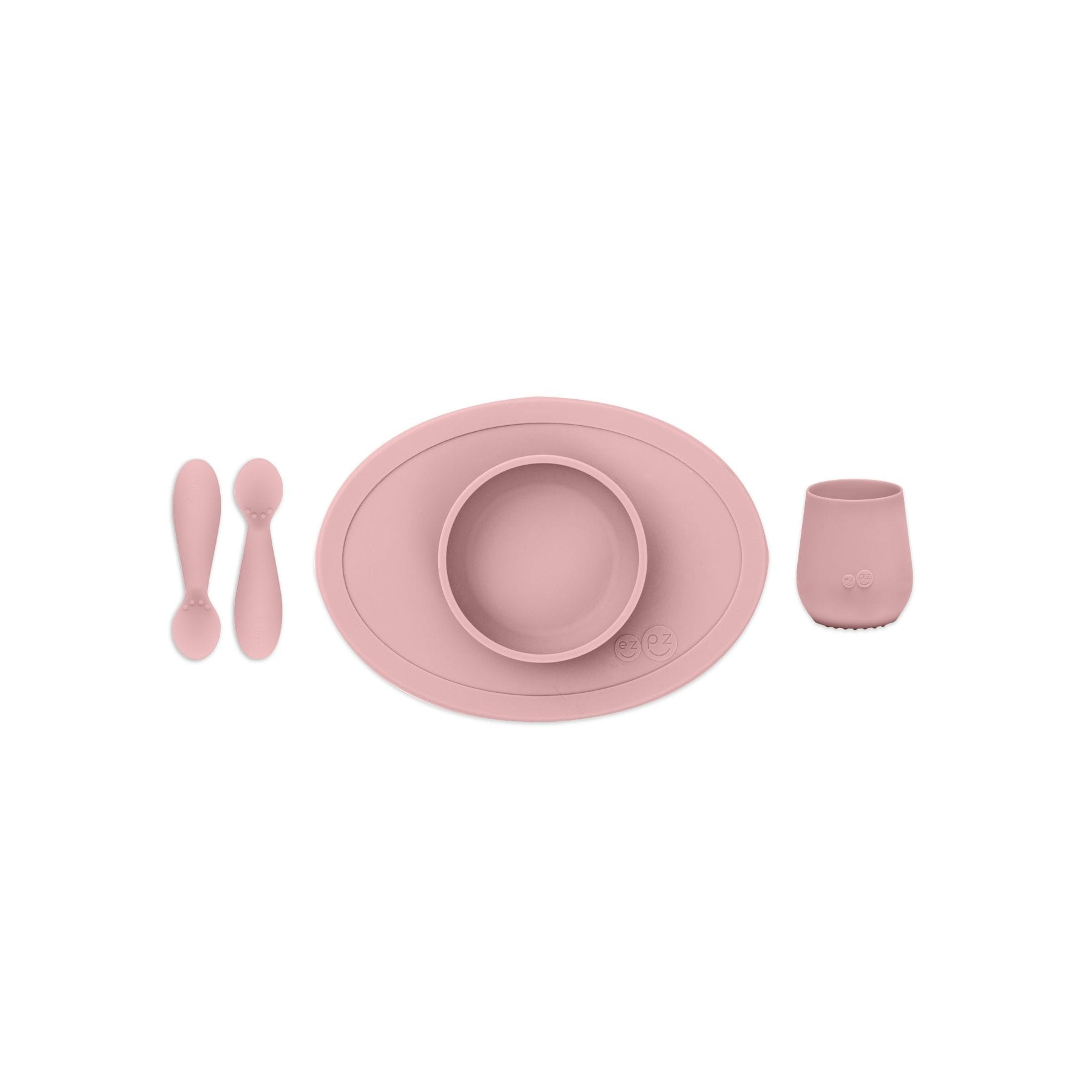 EZPZ Tiny First Food Set - Blush