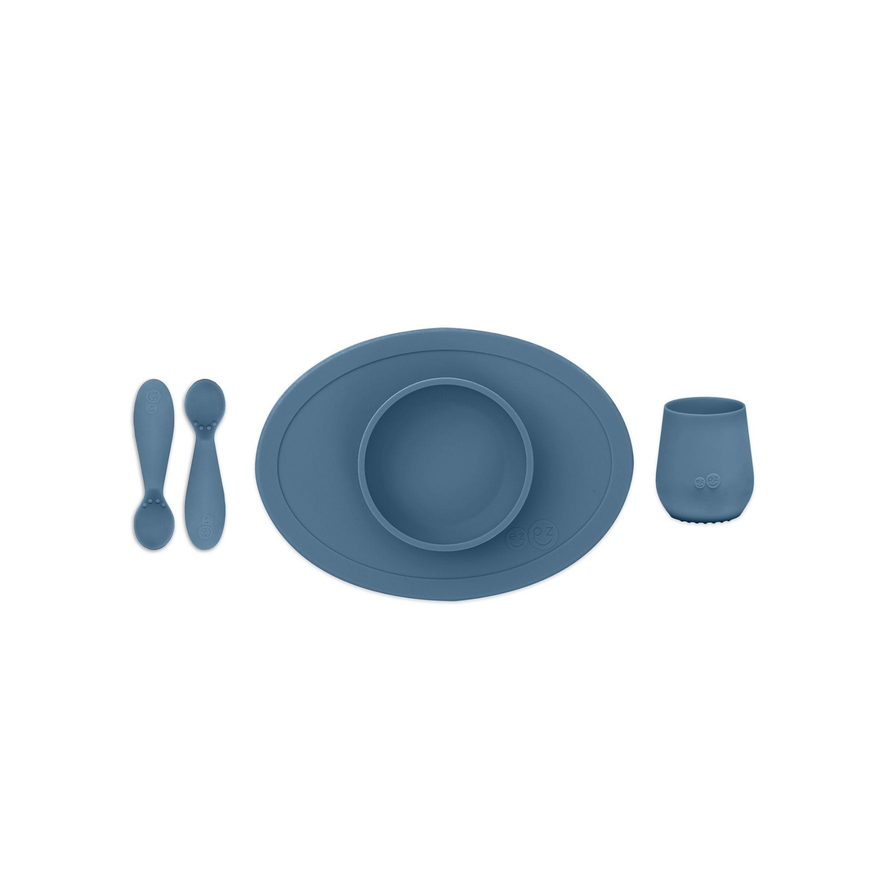 EZPZ Tiny First Food Set - Indigo