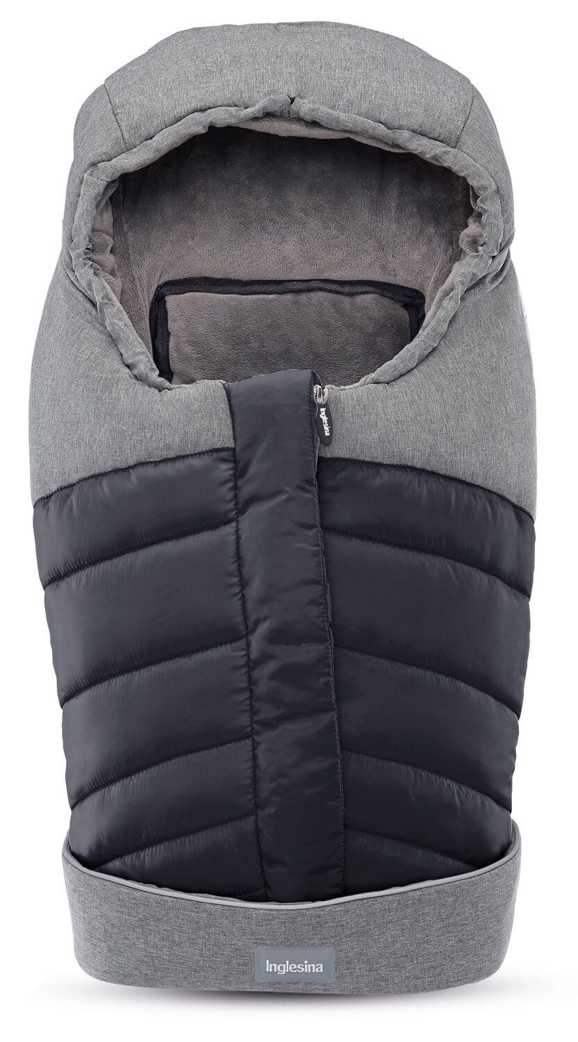 Inglesina newborn winter muff for pram & car seat - onyx black