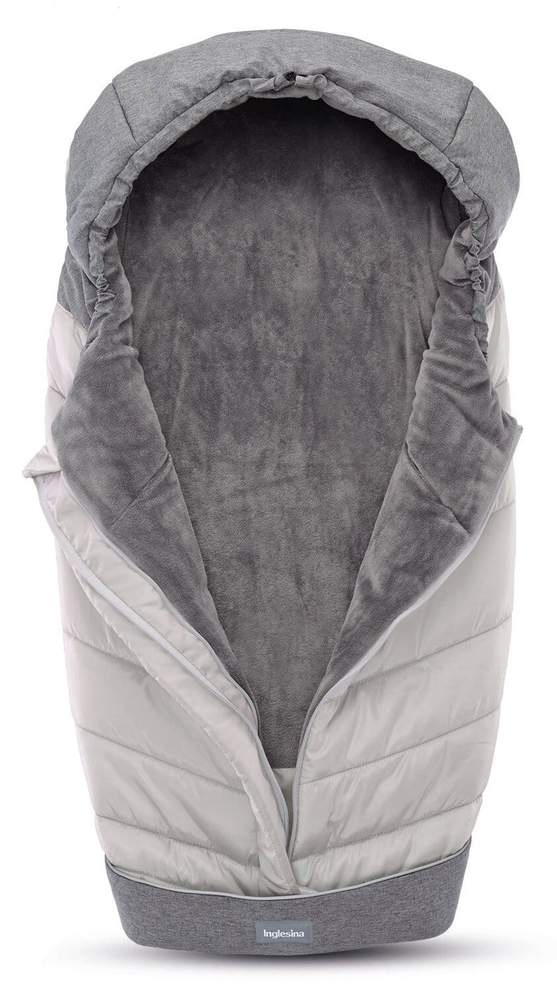 Inglesina Winter muff for stroller - silver