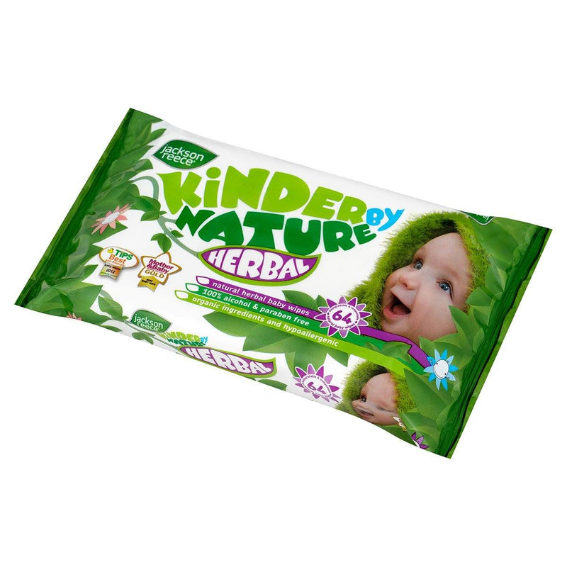 Jackson Reece Herbal Baby Wipes - huggle