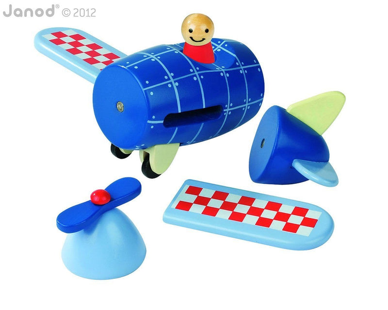 Janod Magnetic Airplane - huggle